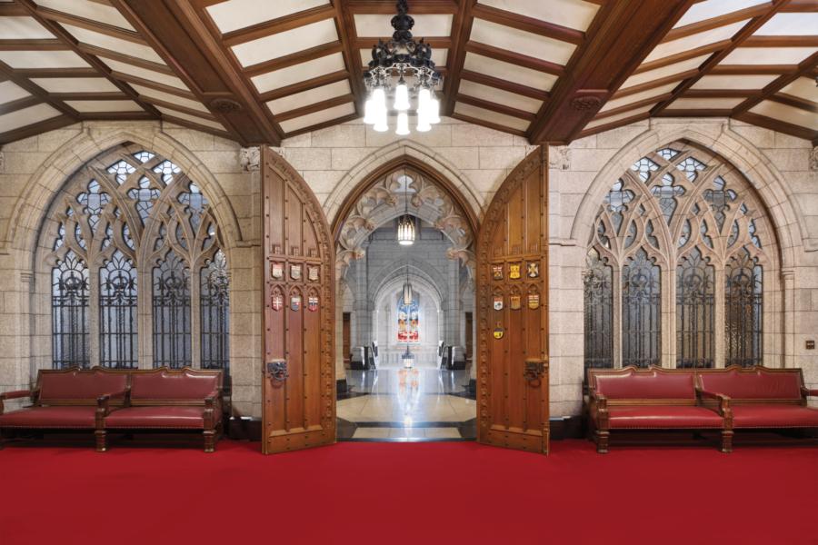 Droits d'auteur, photo: Sénat du Canada.