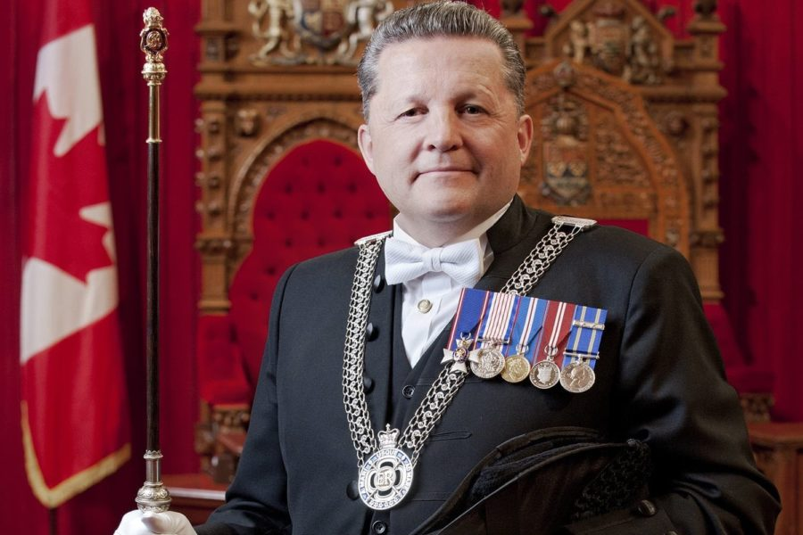 Greg Peters has been re-appointed as Usher of the Black Rod.