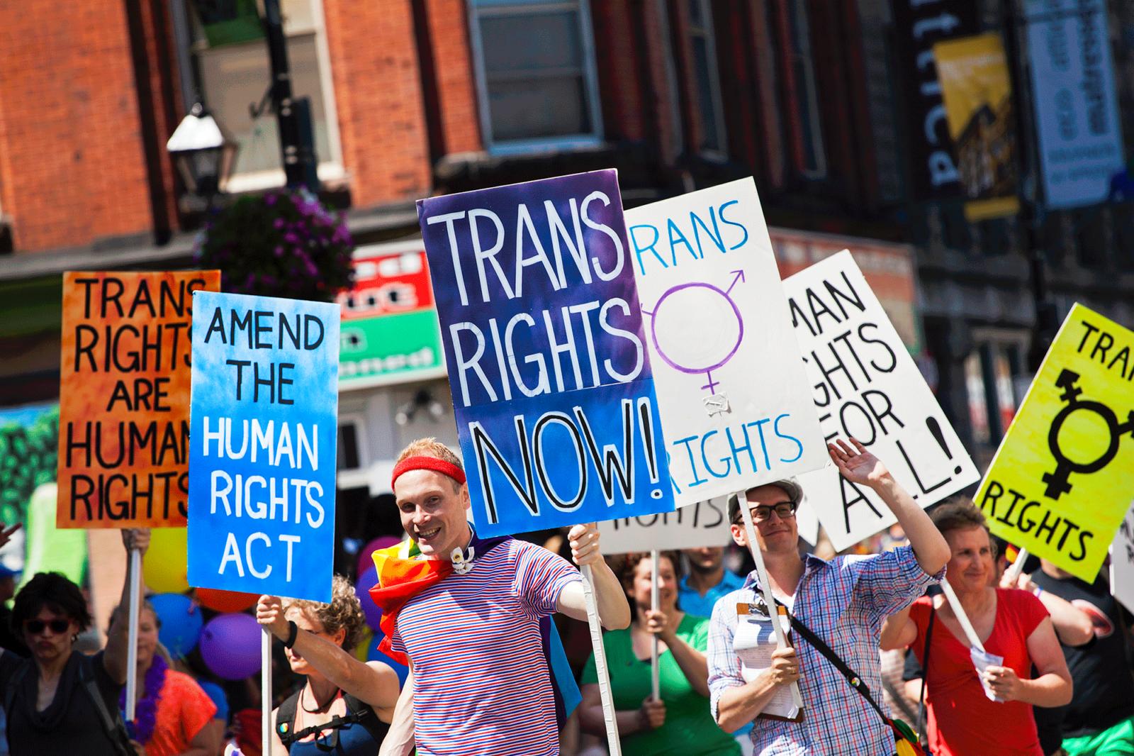 Projet de loi C-16 : loi protégeant les droits des personnes transgenres et toutes les identités de genre