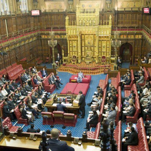 Ce n'est pas la Chambre des lords